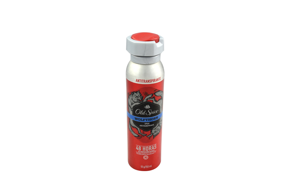 Desodorante Old Spice Wolfthorn Spray Con 150 mL