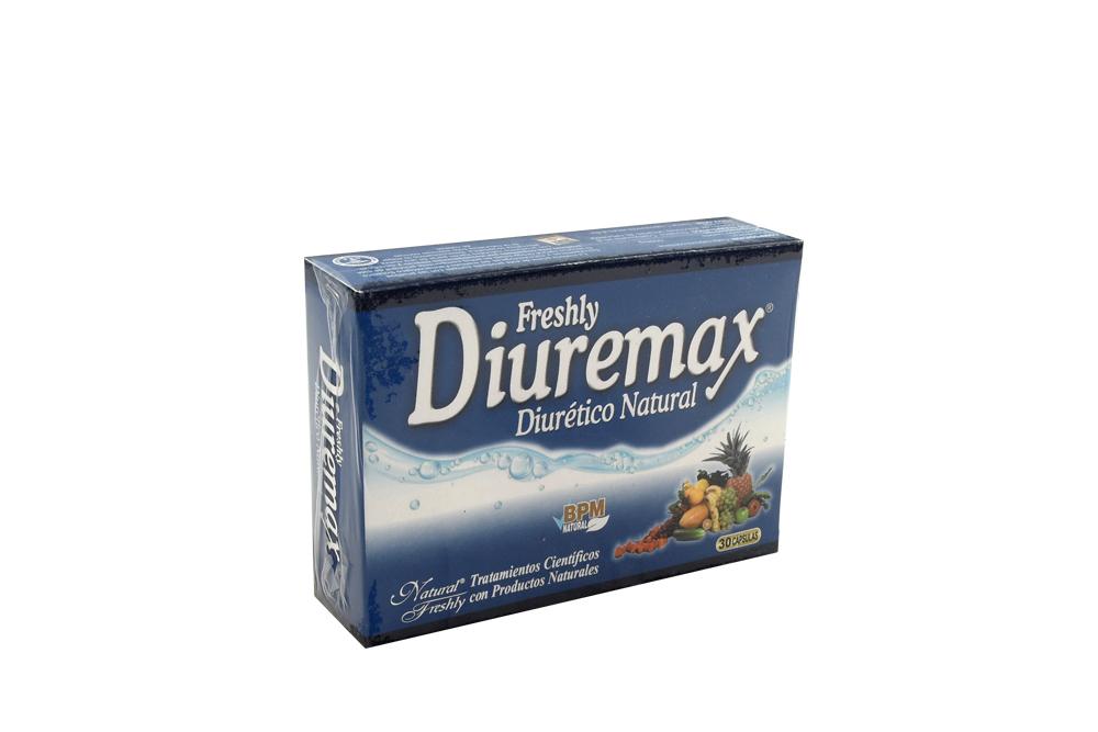 Diuremax Diurético Natural Frasco Con 30 Cápsulas