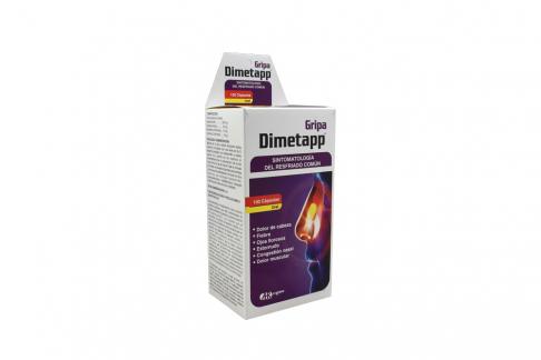 Dimetapp Gripa Caja Con 100 Cápsulas