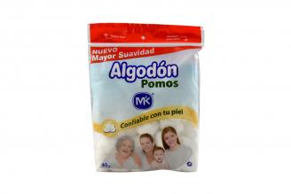 Algodon Mk Pomos Bolsa Con 40 g