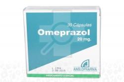 Omeprazol 20 mg Caja Con 30 Cápsulas Rx
