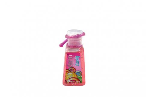 Bactroderm Gel Antibacterial Candy Con Vitaminas A & E Frasco Con 35 mL