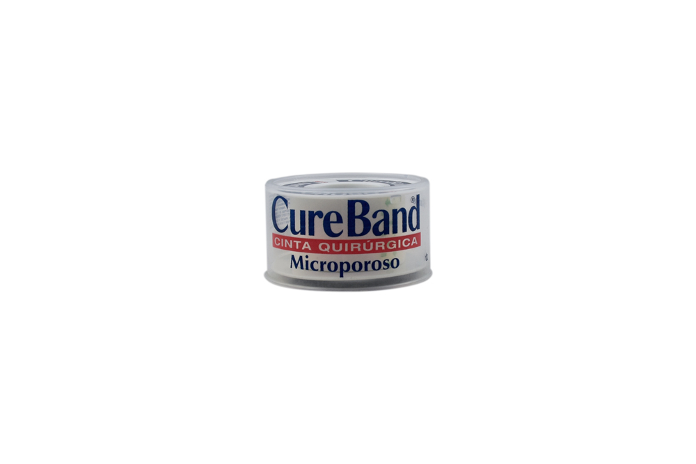 "Micropore Cureband Color Blanco 1"" x 5 Yardas Empaque Con 1 Unidad"