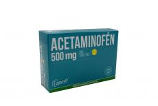 Acetaminofén 500 mg Caja Con 300 Tabletas