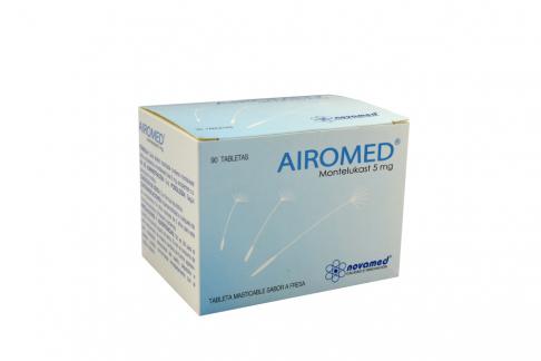Airomed 5 mg Caja Con 90 Tabletas Masticables Rx4