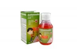 Acetaminofén 150 mg Jarabe Frasco Con 120 mL