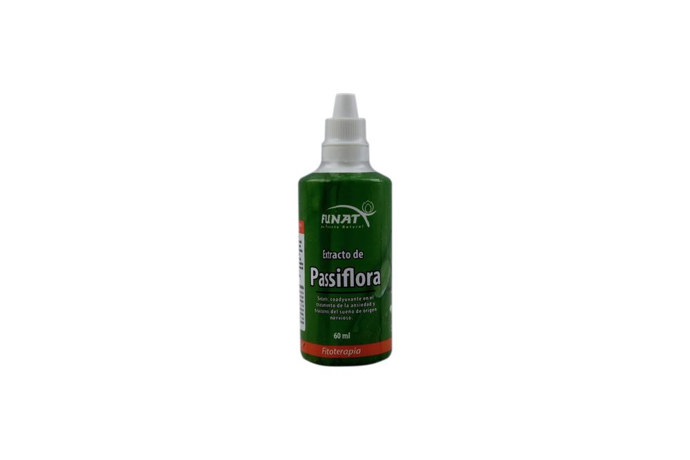Extracto De Passiflora Funat Frasco Con 60 mL