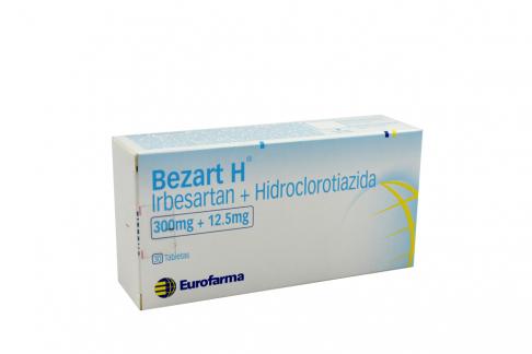Bezart H 300 / 12.5 mg Caja Con 30 Tabletas Rx