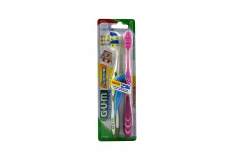 Cepillo Dental Gum Sun Star Empaque Con 2 Unidades