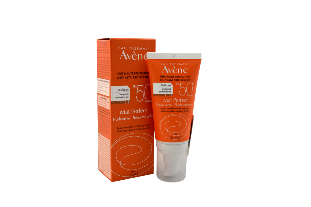 Eau Thermale Avène Protector Mat Perfect FPS 50 + Caja Con Frasco 50 mL