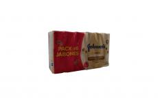 Jabón Johnson's Baby Cremoso Avena Caja Con 6 Unidades Barra Con 125 g