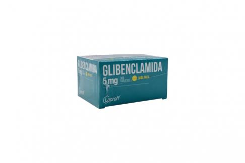 Glibenclamida Laproff 5 mg Caja Con 300 Tabletas Rx