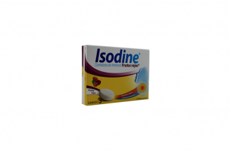 Isodine Frutos Rojos Caja Con 6 Tabletas