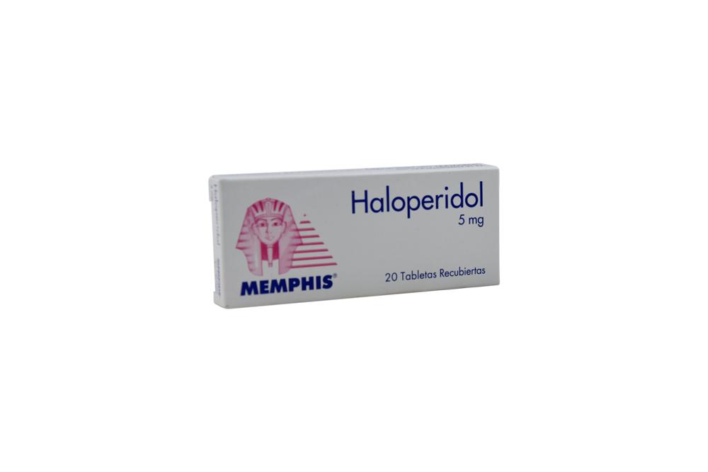 Haloperidol 5 mg Caja Con 20 Tabletas Rx