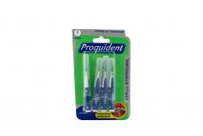 Cepillo Dental Proquident Interproximales Empaque Con 4 Unidades