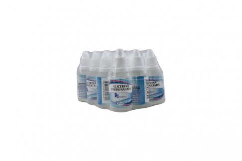 Glicerina Carbonatada Disanfer Empaque Con 12 Frascos Con 25 mL C/U