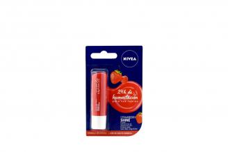 Nivea Protector Labial Empaque Con Tubo Con 4.8 g – Sabor Fresa