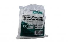 Gorro Quirúrgico Alfa Blanco Caja x 100 Unidades
