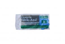 GUANTE NITRILO AZUL - TALLA M