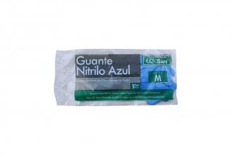 Guante Nitrilo Azul Talla M Empaque Con 1 Par