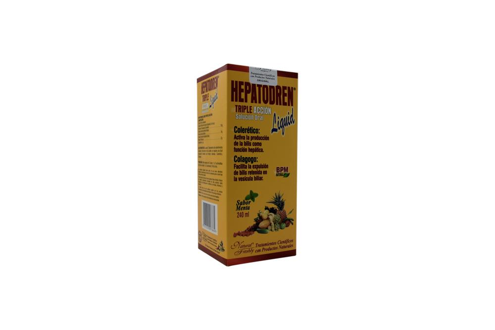 Hepatodren Liquid Caja Con Frasco Con 240 mL