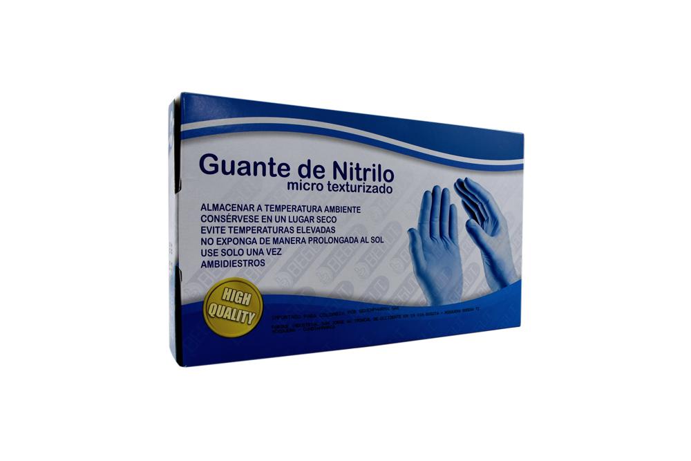 Guante Nitrilo Begut Talla S Caja Con 100 Unidades
