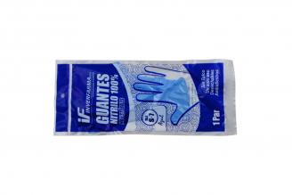 Guantes De Nitrilo Azul No Estériles Talla S Bolsa Con 1 Par