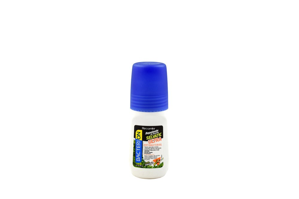 Repelente Bacterion Selvatic Ultra Roll-On Con 40 mL