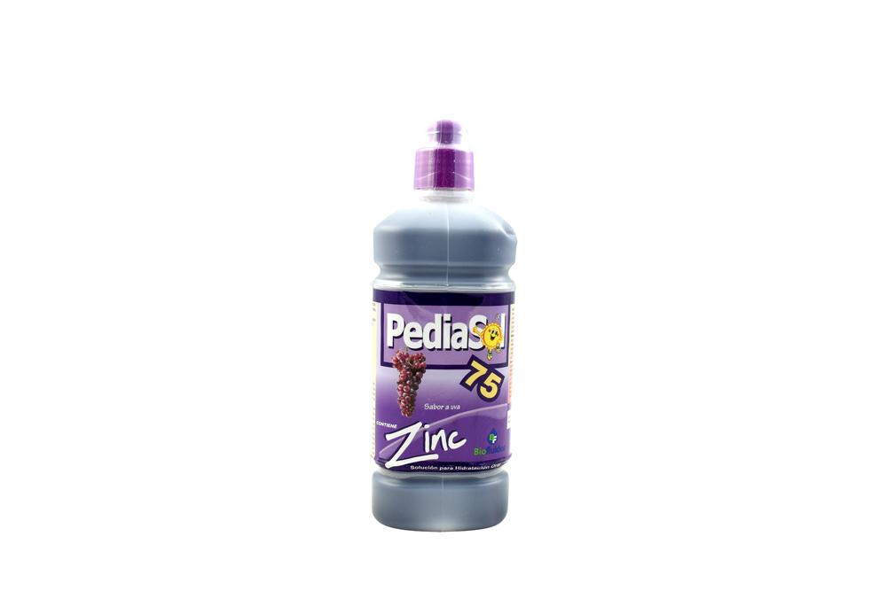 Pediasol 75 X 500 mL Uva Con Zinc / Quibi