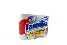 Papel Higiénico Familia Acolchamax Megarollo Con 4 Unidades