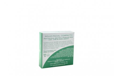 Ana María Polvo Facial Compacto Con Arroz Estuche Con 15 g – Tono No. 5