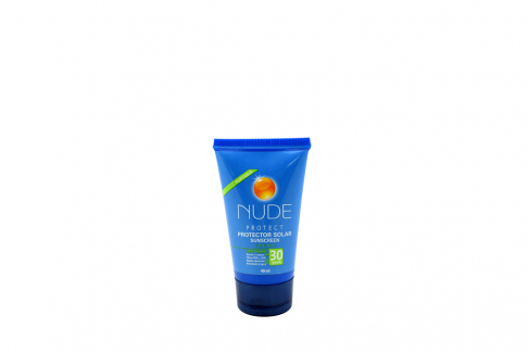 Protector Solar Nude Protect Crema SPF 30 Tubo Con 40 mL