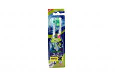 Cepillo Dental Fluocardent Flex Empaque Con 2 Unidades