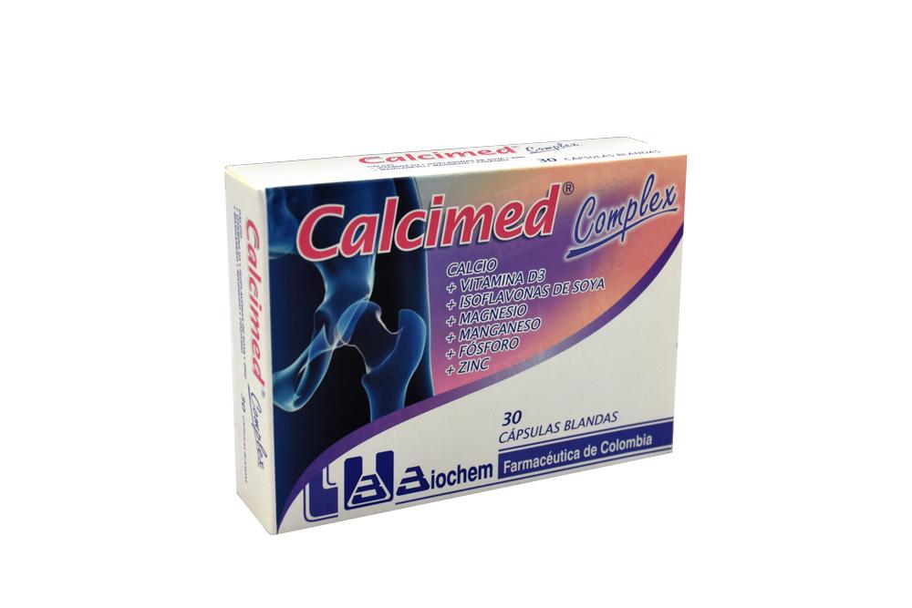 Calcimed Complex Caja Con 30 Cápsulas