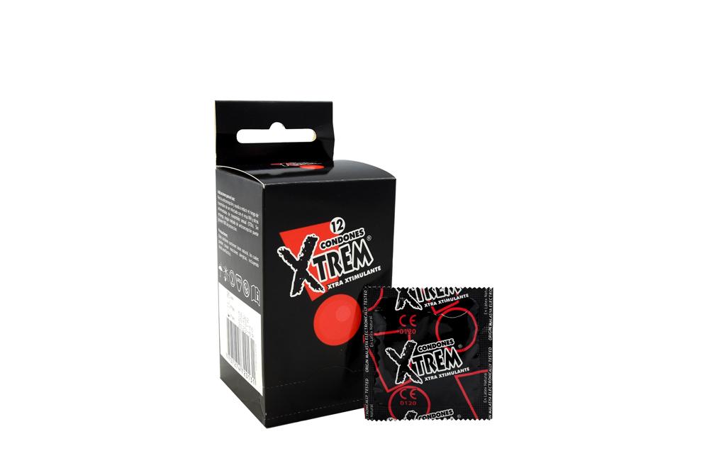Condones Xtrem Xtra Estimulante Caja Con 12 Unidades