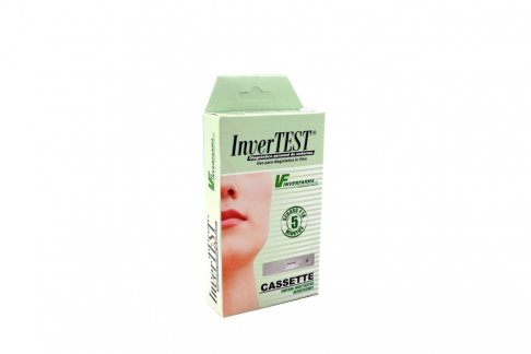 Prueba De Embarazo Tipo Cassette Invertest Caja Con 1 Unidad