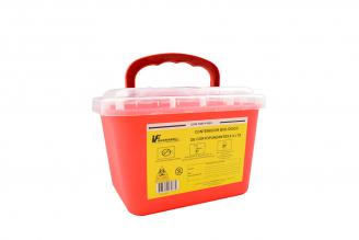 Contenedor Biológico Recolector Cortopuzante 5.0 Litros Bolsa Con 1 Unidad