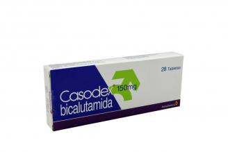 Casodex 150 mg Caja Con 28 Tabletas RX1 Rx4
