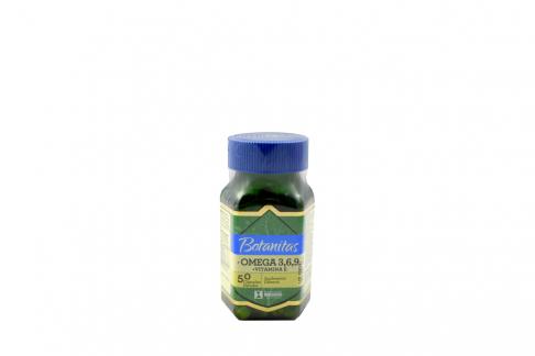 Omega 3-6-9 + Vitamina E Frasco Con 50 Cápsulas