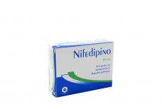Nifedipino 30 mg Caja Con 30 Cápsulas De Liberación Prolongada Rx4