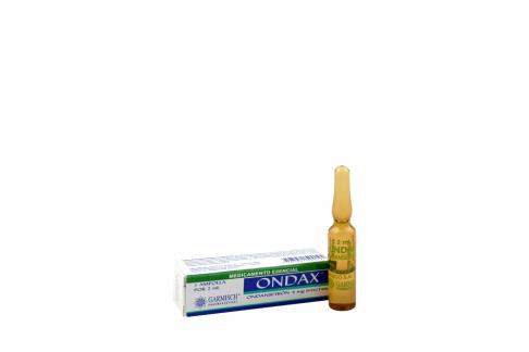 Ondax 4 mg Caja Con 1 Ampolla Con 2 mL Rx