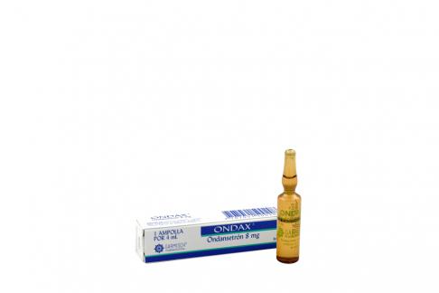 Ondax 8 mg Inyectable Caja Con 1 Ampolla Rx