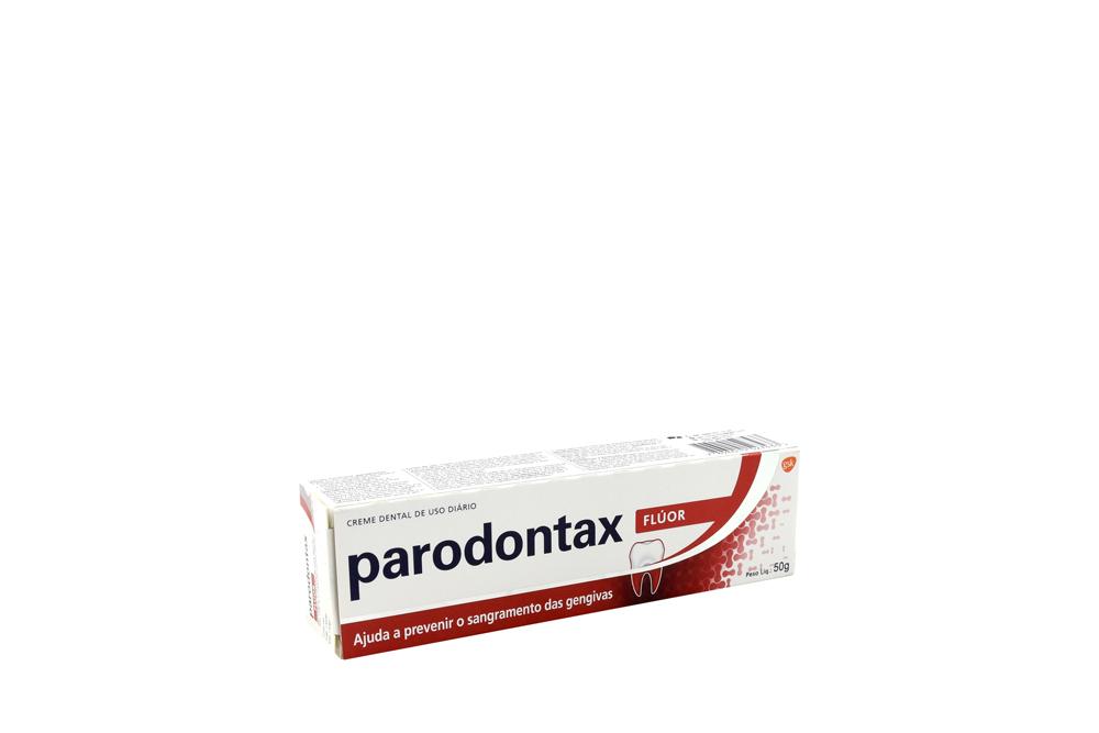 Crema Dental Parodontax Flúor Caja Con Tubo Con 50 g