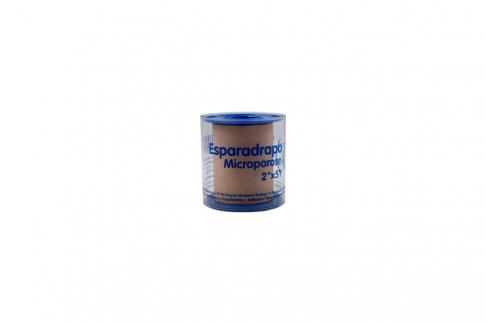 Esparadrapo Microporoso Quirúrgico Tamaño 2 x 5 Yardas Empaque Con 1 Unidad