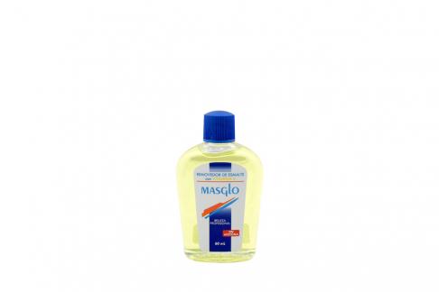 Removedor De Esmalte Masglo Con Vitamina E Frasco Con 60 mL