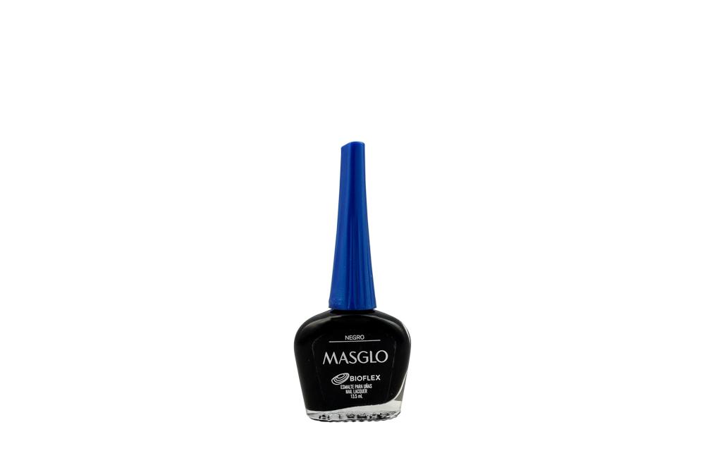 Esmalte Masglo Frasco Con 13.5 mL -  Color Negro
