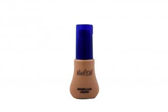 Maquillaje Líquido Nailen Tono N°4 Frasco Con 25 mL