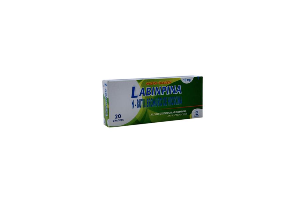 Labinpina 10 mg Caja Con  20 Grageas