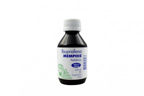 Ibuprofeno 2% Suspensión Caja Con Frasco Con 120 mL