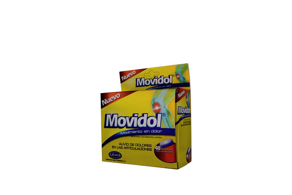 Movidol Caja Con 48 Tabletas Recubiertas